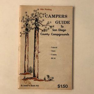 VINTAGE Campers Guide to San Diego Campgrounds